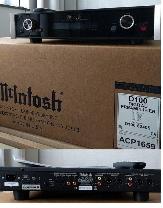 McIntosh D100