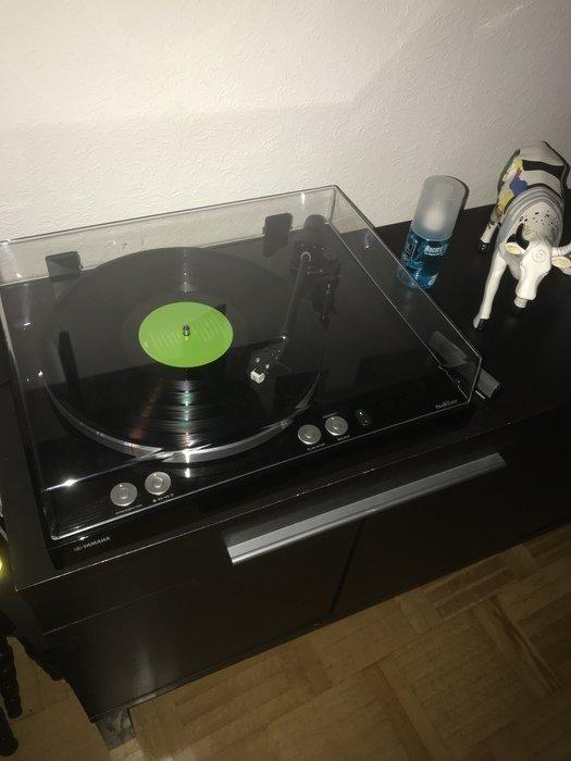 Ny vinylspelare med nätverk