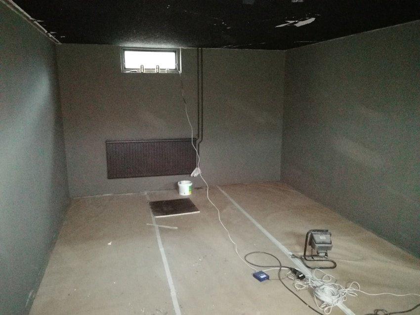 Nu har äntligen rummet fått lite färg!
