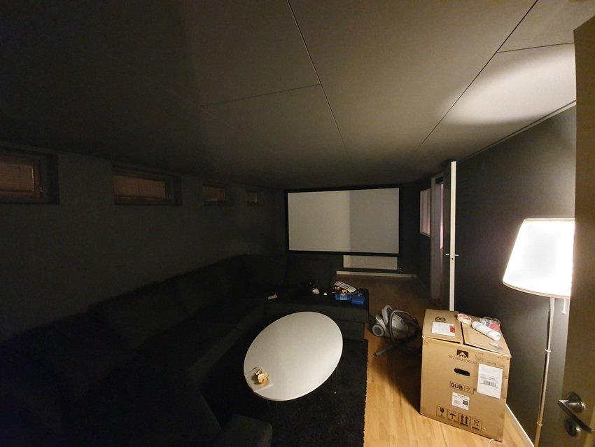 Rummet färdigmålat