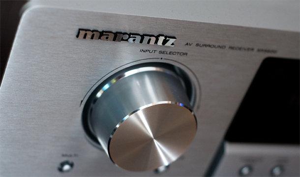 Marantz SR5600 selector
