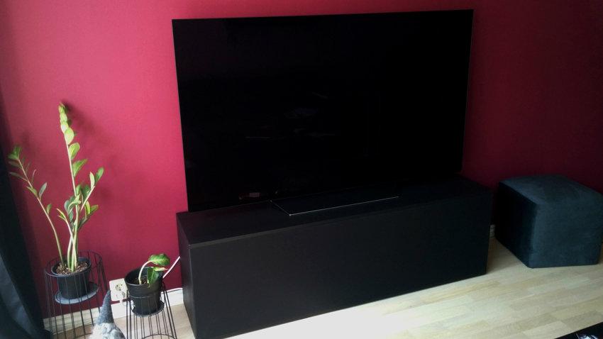 Hemmabyggd TV-möbel, utgångspunkten