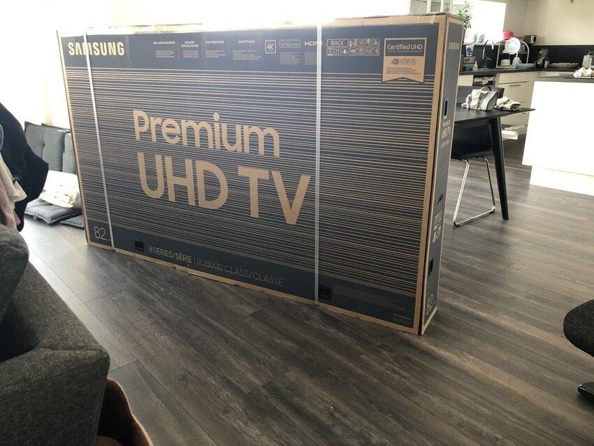 Den gamla tv`n blev ju för pluttig