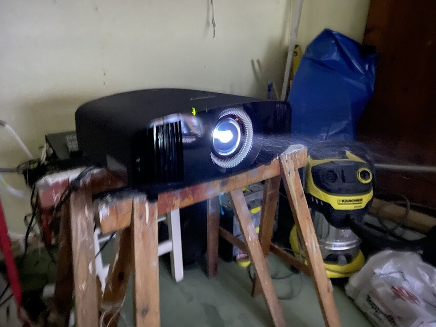 Test av projektor