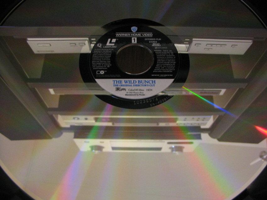 1st LaserDisc på tallriken
