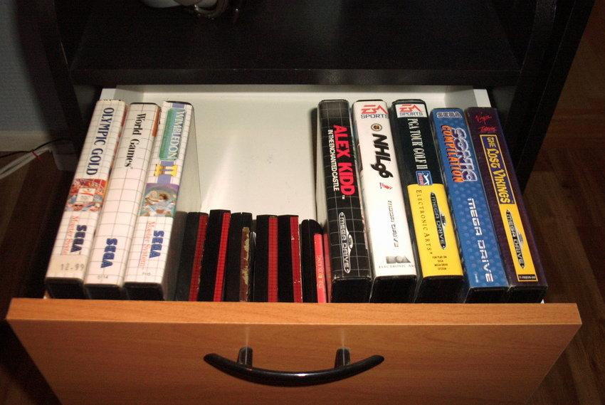Sega-spel, inte många jag vet