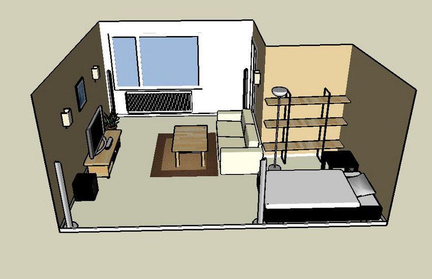 översikt av rummet