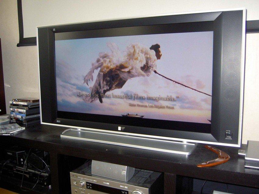 Quicktime HD-klipp uppspelat fr HTPC via mediaextendergränssnittet på xbox360.