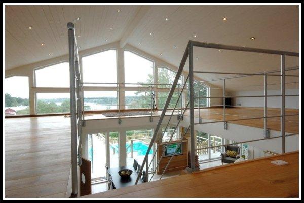Övervåningen.