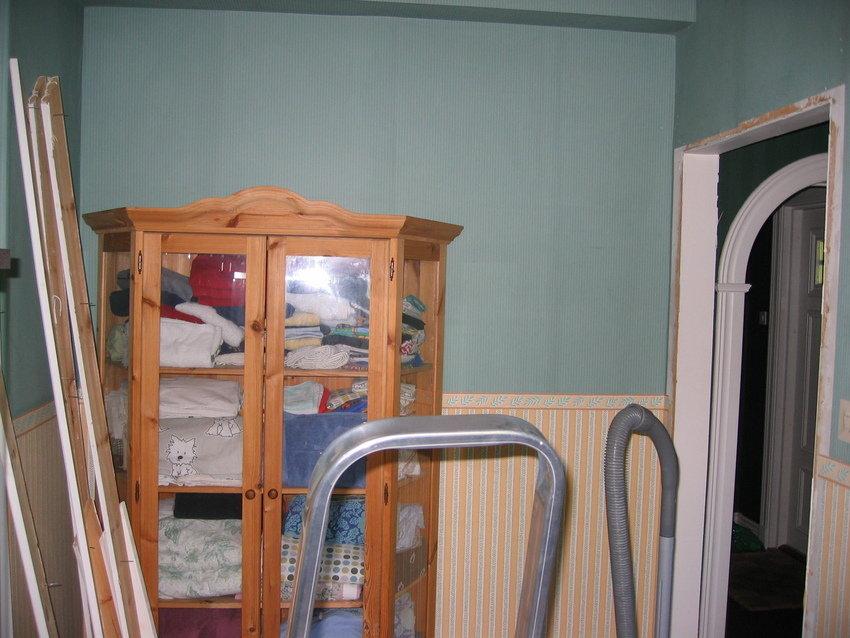 Främre delen av rummet!