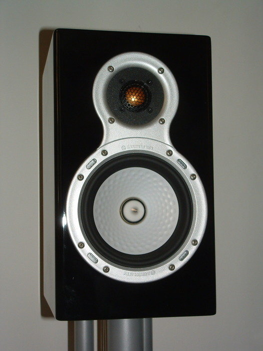 Mina Monitor Audio Gold stativ högtalare!