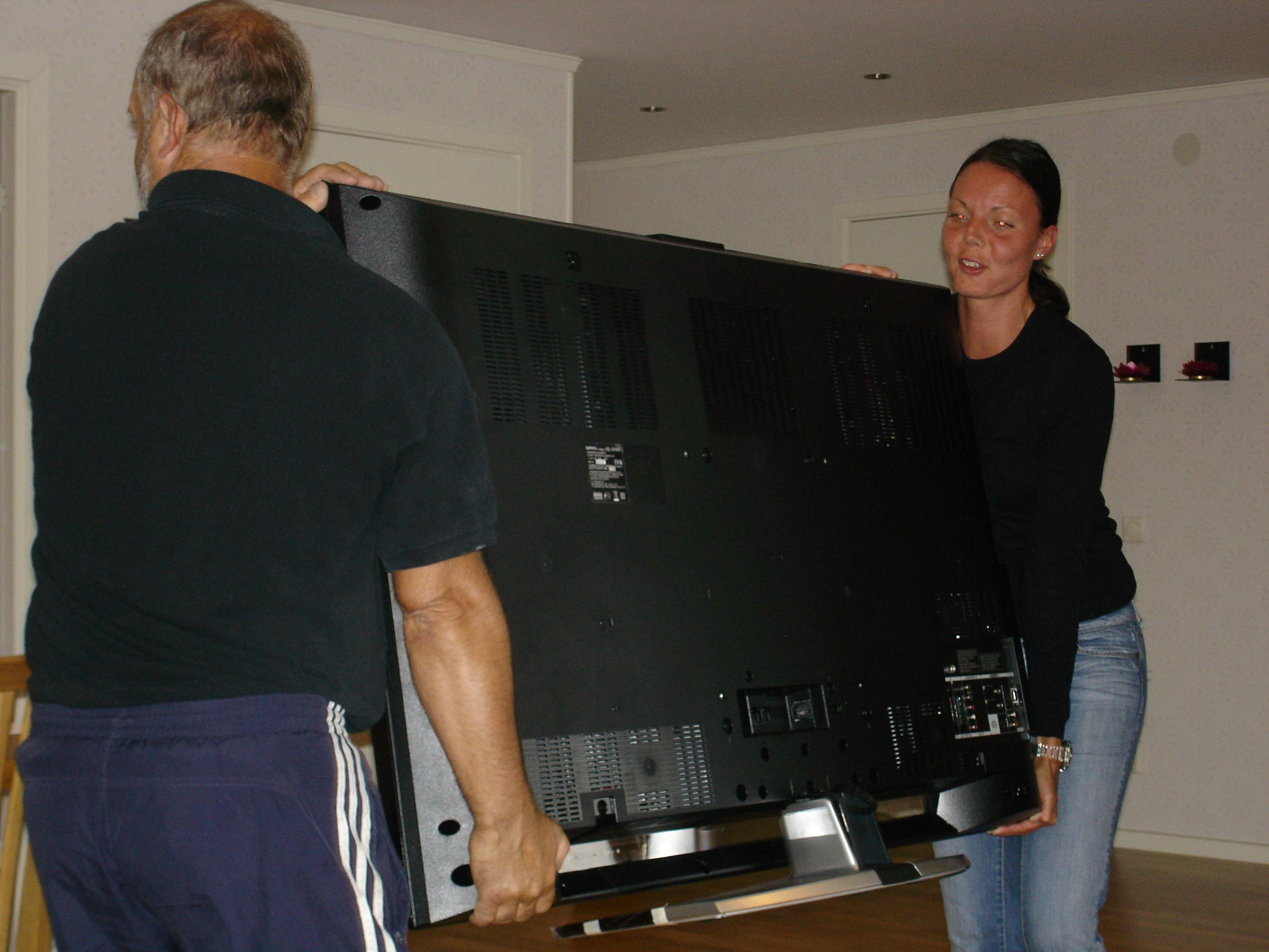 Bilder på Sony Bravia KDL-52W4000 TV