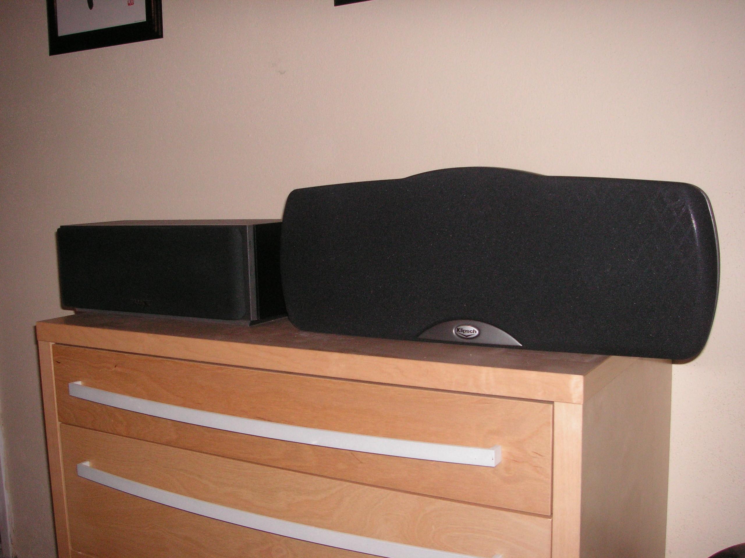 bilder p klipsch synergy c 3 centerh gtalare. Black Bedroom Furniture Sets. Home Design Ideas