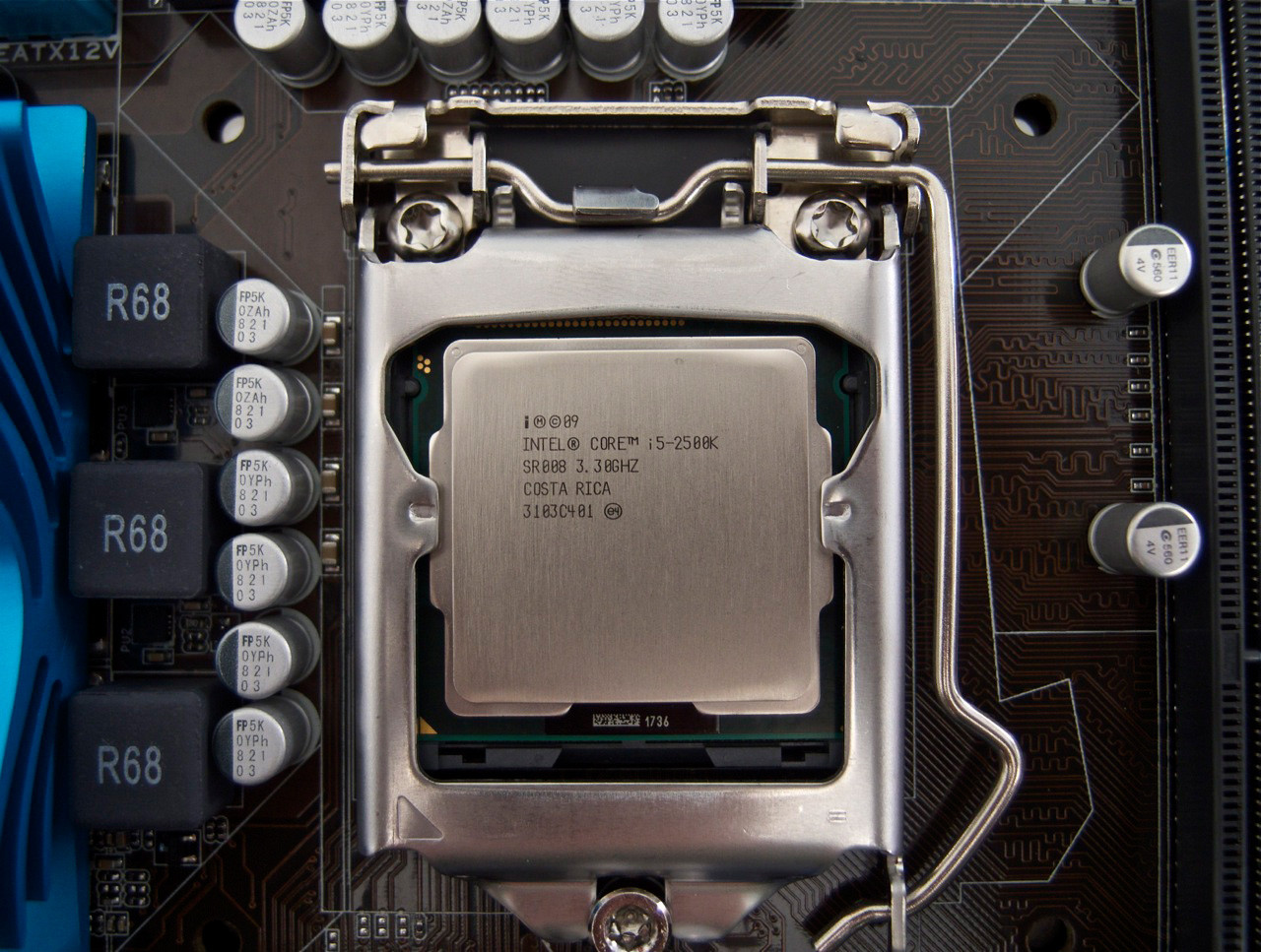 Images of Intel Core i5 2500K 3.3GHz Socket 1155 Box CPU