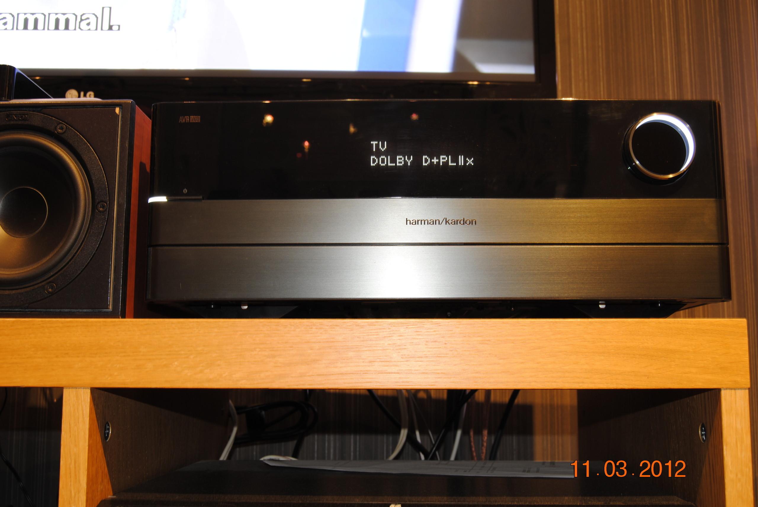 Bilder av Harman Kardon AVR 760 Surroundforsterker / receiver