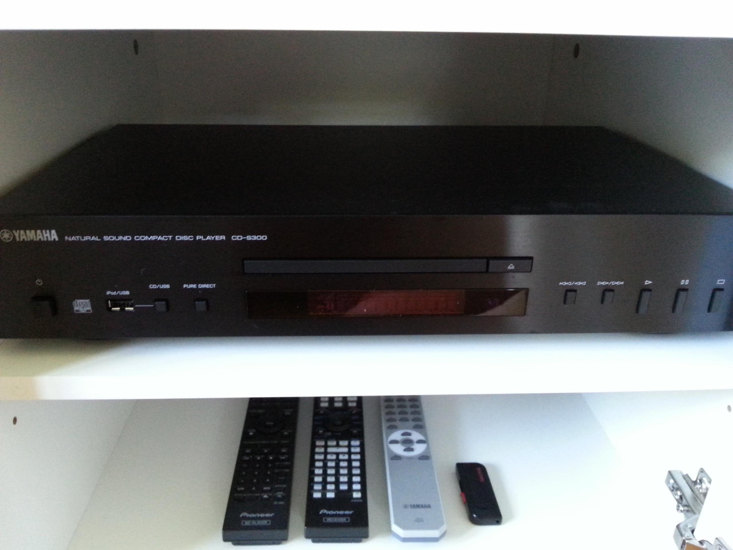 images of yamaha cd s300 cd player. Black Bedroom Furniture Sets. Home Design Ideas
