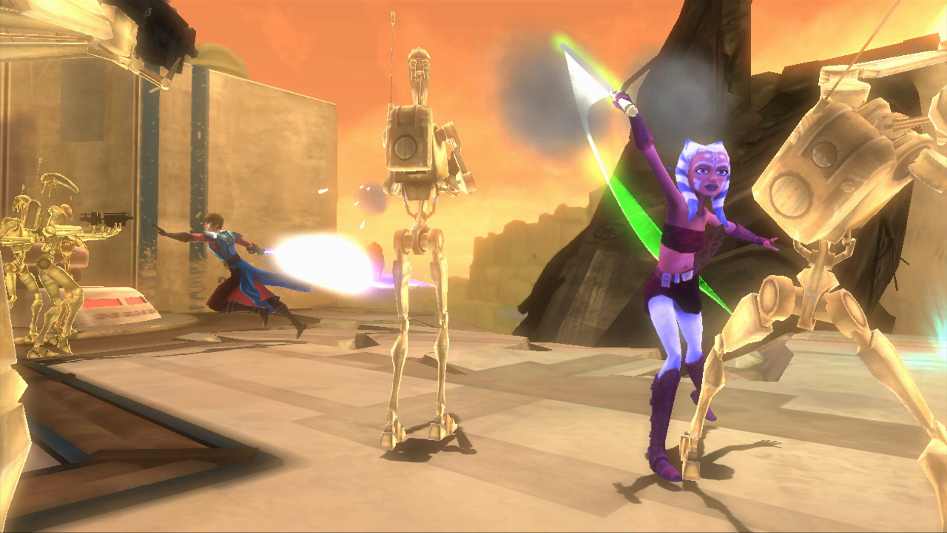 Star Wars The Clone Wars: Republic Heroes.