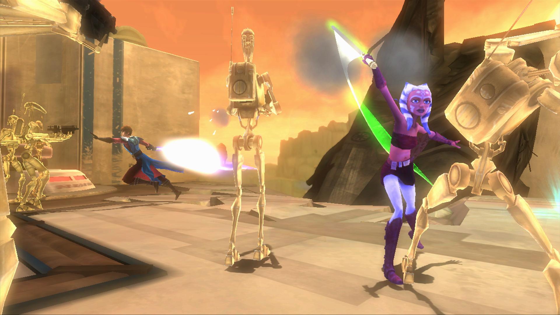 Star Wars The Clone Wars: Republic Heroes.